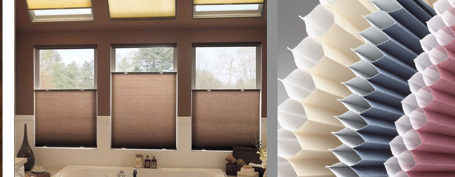 """Pleated Cellular Shades"""