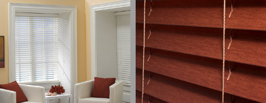 """Horizontal Wood Blinds"""